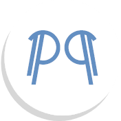 Symbol showing two P's